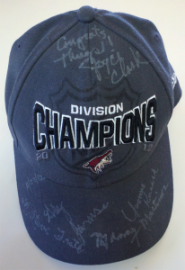My new Best Hat signed by Jamison and four councilmembers on 11/27