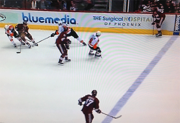 Voracek picks Yandle