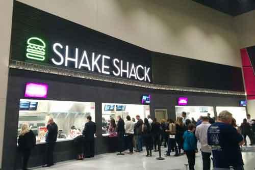 Shake Shack at T-Mobile Arena